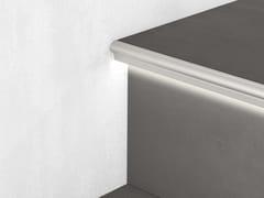 Profilo paragradino in alluminio con LEDPROLIGHT PROSTEP SGA/11L - PROFILPAS