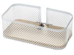 Mensola bagnoPROP | Mensola bagno in acciaio inox e legno - EVER LIFE DESIGN