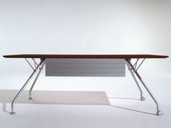 Tavolo da riunione rettangolare con ruote PROSPERO   Tavolo da riunione con ruote - Prospero