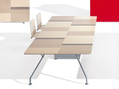 Tavolo da riunione rettangolarePROSPERO | Tavolo da riunione rettangolare - ULTOM