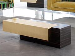 Tavolino basso rettangolare in ebanoPROTAGONISTA - ERBA ITALIA