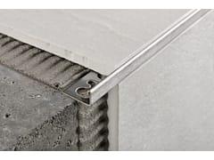 """Profilo ad """"L"""" per rivestimenti e pavimentiPROTERMINAL ACCIAIO AISI 304 E AISI 316 - PROGRESS PROFILES"""