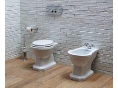 Sedile wc in legno ammortizzatoPROVENCE '900 | Sedile wc - BLEU PROVENCE