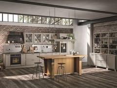 Cucina laccata in legno con manigliePROVENZA | Cucina - CUCINE LUBE