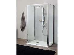Box doccia centro paretePSCQUICK + FISSO | Box doccia centro parete - TAMANACO