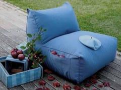 Poltrona da giardino in tessuto PUFFONE | Poltrona da giardino in tessuto - Puffone
