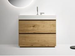 Mobile lavabo singolo con cassetti PURE | Mobile lavabo - Pure