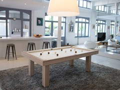 Tavolo da biliardo rettangolare in legno masselloPURITY - BILLARDS TOULET