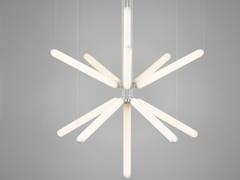 Lampada a sospensione in vetro con dimmerPURO SPARKLE - BROKIS