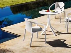 Sedia in alluminio con braccioliPUSH | Sedia - MYYOUR