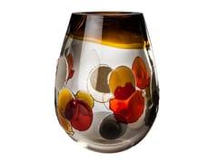 Vaso fatto a mano in vetro soffiatoPYROS - VENINI