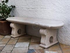 GH LAZZERINI, Panchina 5 Panca da giardino in pietra naturale