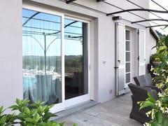 Porta-finestra scorrevole in legno Porta-finestra scorrevole - Scorrevoli