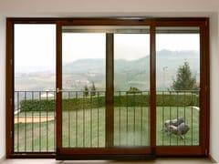 Porta-finestra complanare in legno Porta-finestra complanare - Scorrevoli