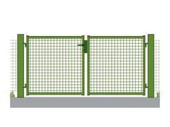 Cancello in rete elettrosaldataCancelletto 1-2 ante - GRIGLIATI BALDASSAR