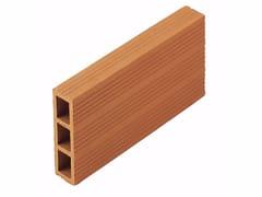 Blocco da muratura in laterizio / Blocco per tamponamento in laterizioForatini 3 fori 4,5x15x30 - WIENERBERGER