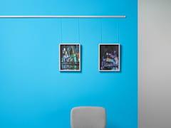 Espositore a parete componibile in metalloBinario da parete in alluminio - PLANNING SISPLAMO