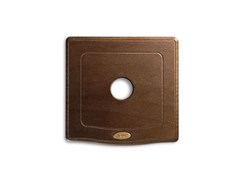 Placca in legnoPlacca in legno quadrata ENGLAND STYLE 44 |Per levetta - AVE