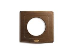 Placca in legnoPlacca in legno quadrata ENGLAND STYLE 44 |Per presa - AVE