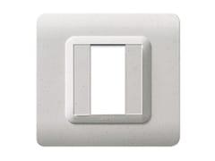 Placca in tecnopolimero lato 88 mmPlacca quadrata 88 TP 44   Marmo - AVE