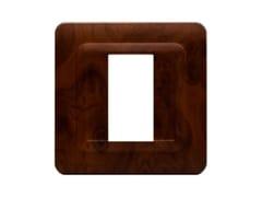 Placca in tecnopolimero per scatola tonda o quadrataPlacca quadrata TP 44 | Radica - AVE