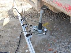 Sistema completo per prove di portanza su terreniKIT PROVE DI CARICO SU PIASTRA - NOVATEST