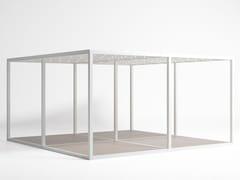 GANDIA BLASCO, Modello Pavimento Tetto Prolietilene Pergolato autoportante in alluminio