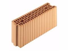Blocco portante in laterizio per murature armate Porotherm 12-50/19 - Porotherm