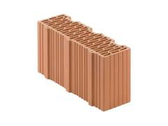 Mezzo Blocco in laterizio rettificato per murature da tamponamentoPorotherm BIO PLAN 38-12/19,9 T mezzo - WIENERBERGER