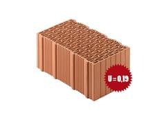 Blocco in laterizio rettificato per murature da tamponamentoPorotherm BIO PLAN 45-25/19,9 T - 0,09 - WIENERBERGER