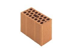 Mezzo blocco in laterizio modulari per murature portanti antisismichePorotherm Modulare 25-12/19 (45) - WIENERBERGER