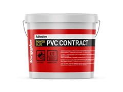 Adesivo acrilico a presa rapida per PVC e pavimenti in tessuto.Power Glue Pvc Contract - TORGGLER