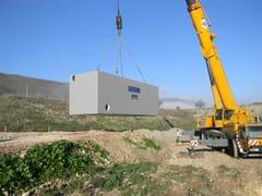 Sistema di recupero acqua piovanaVasche di laminazione prefabbricate - GAZEBO