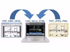 INTERSTUDIO, Print2CAD™ Conversione immagine raster