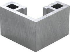 BOXER, Profilo paraspigolo Profilo paraspigolo in alluminio