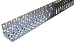 Profilo paraspigolo curvabile in acciaio Profilo paraspigolo in acciaio - Orditure