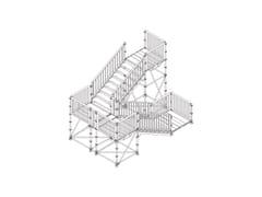 Scale metalliche modulari temporaneeScale pubbliche e passerelle - CONDOR