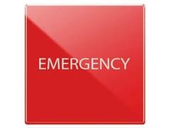 Pulsante illuminabilePulsante emergenza rosso 1P 10 A - 2 Moduli - AVE