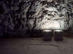 Lampada da terra in vetro e metalloQ² - DAVIDE GROPPI