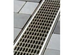 Griglia a maglia con sezione di scolo aperta Q PLUS - ACO DRAIN ® Multiline