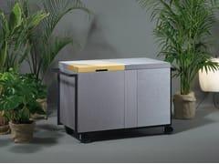 Cucina da esterno elettrica in Paperstone®QB 01 - SANWA COMPANY