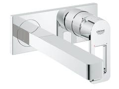 Miscelatore per lavabo a muro con piastra QUADRA | Miscelatore per lavabo a muro - Quadra