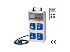 Quadro elettrico da cantiereQUADRO ASC DA CANTIERE IP 44 230 VOLT - MAURER PLUS FERRITALIA