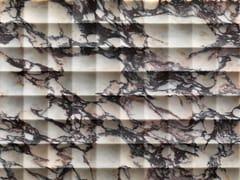 Rivestimento tridimensionale in marmoQUADRO - LITHOS DESIGN