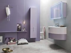 Sistema bagno componibile QUANTUM - COMPOSIZIONE 6 - Quantum