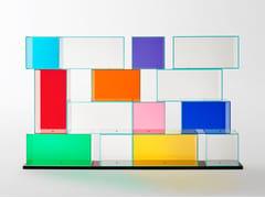 Libreria modulare in cristalloQUANTUM - GLAS ITALIA