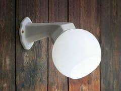 Lampada da parete in ceramica con braccio fissoQUARANTA | Lampada da parete - ALDO BERNARDI