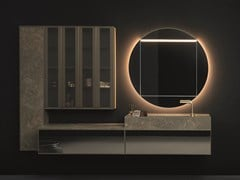 Mobile lavabo sospeso con specchioSAN POLO - NOVELLO