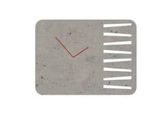 Orologio in cemento da pareteTIME SQUARE & ROUND - MANUFATTI VISCIO