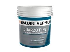 Pittura acrilica per esterniQUARZO FINE ANTIALGA - CROMOLOGY ITALIA